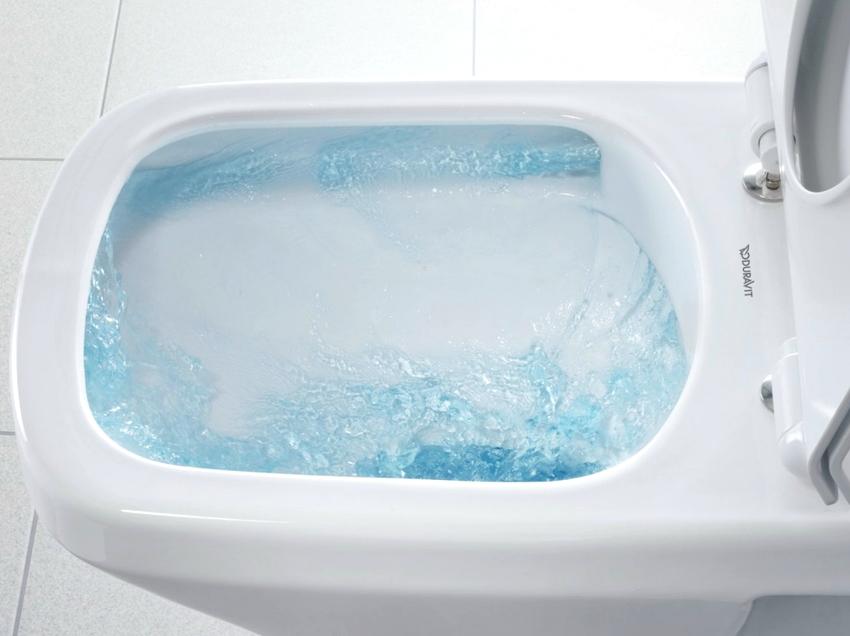 Если в унитазе присутствует постоянное непрерывное движение воды, сливная арматура находится в неисправном состоянии