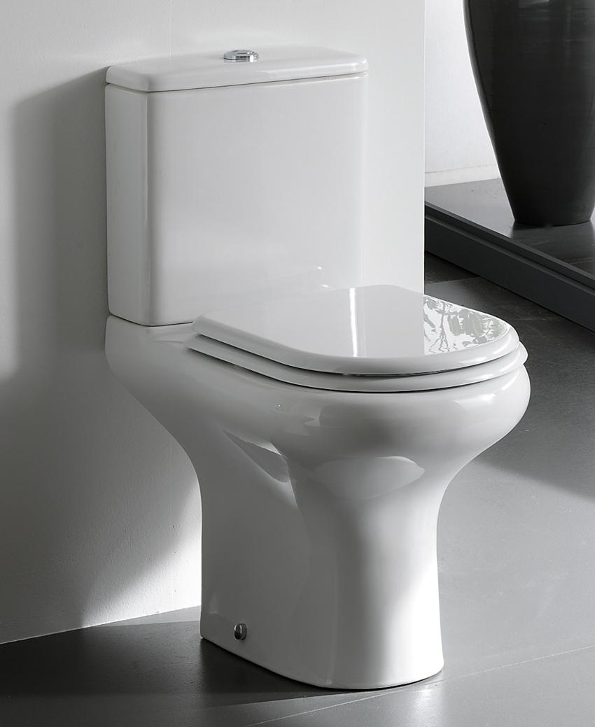 Большой популярностью пользуется модель Roca Victoria с нижним подводом воды