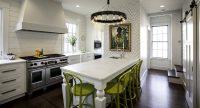 Белая кухня с белой столешницей: идеи удачного дизайна