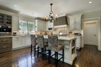Белый цвет – идеальное решение для оформления кухни в классическом стиле