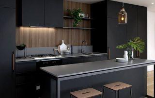 Черные кухни: элегантность и эксклюзивность в интерьере