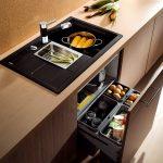 Черные кухни: элегантность и эксклюзивность в интерьере подробно, с фото