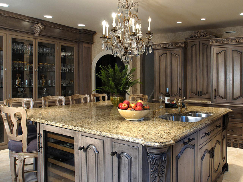 Коричневый цвет наиболее универсальный, так как подходит для классических и современных интерьеров