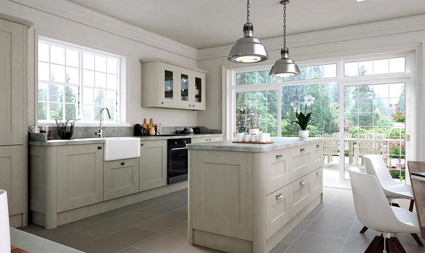Белые оттенки будут хорошо смотреться в кухнях разных стилей