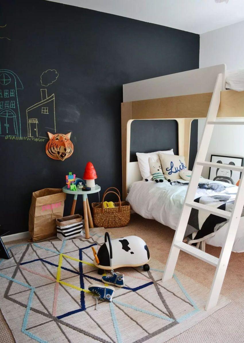Износостойкость - важнейший фактор при выборе финишной отделки стен в детской