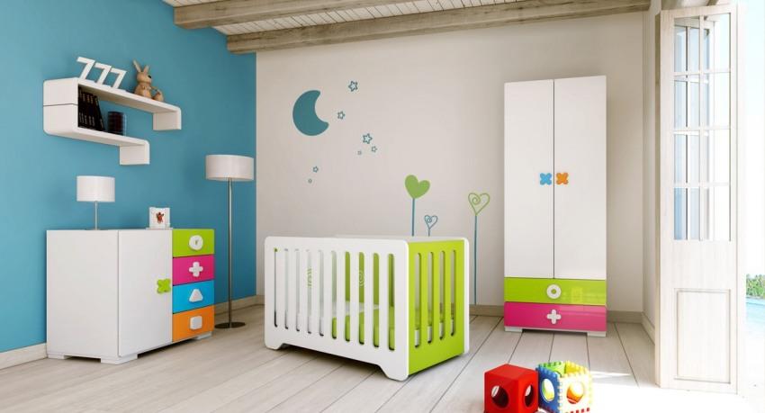 Оформить детскую комнату можно практически в любом цвете, главное – правильно подобрать оттенки и умело сочетать их друг с другом