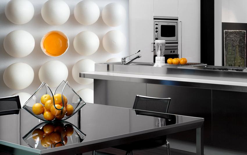 3D-обои способны зрительно расширить помещение и приподнять потолок
