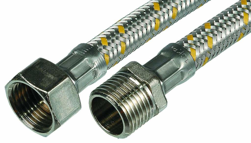 Газовый резиновый шланг в металлической оплетке имеет недостаток - это высокая способность стали пропускать электричество