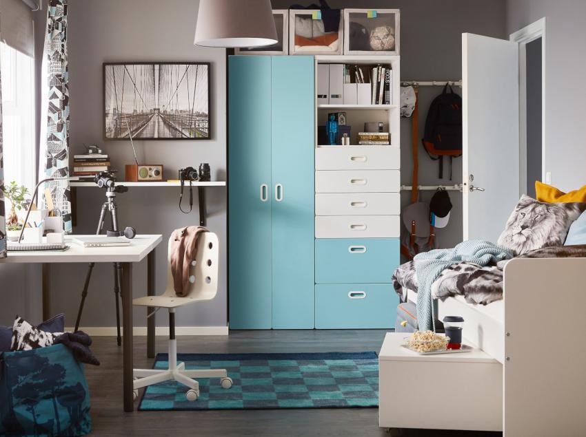 Если ребенок уже достаточно взрослый, то не следует выбирать цвет комнаты без его участия