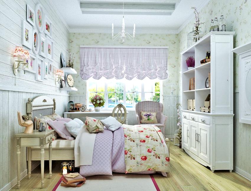 В комнате девочек должно быть светло, потому как они часто увлекаются изготовлением всевозможных браслетов, бус и других аксессуаров