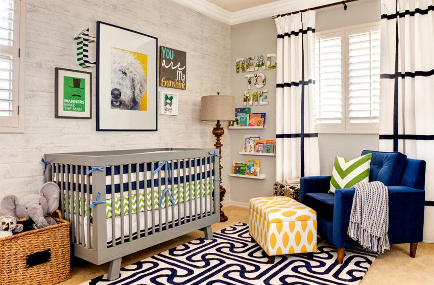 Для разграничения пространства подойдет применение различных элементов декора или эркерных деталей