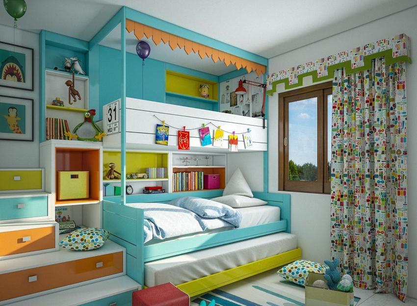 При организации интерьера девичьей комнаты особое внимание советуют уделить текстилю, поскольку именно качество ткани задает общий тон характеру помещения