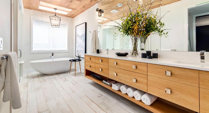 Сантехника в ванной комнате – это не только приспособления для гигиенических нужд и водных процедур, но и своеобразная изюминка интерьера