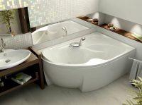 Угловые ванны – это оптимальное решение для маленьких ванных