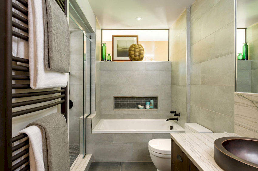Правильно подобранная форма ванной поможет значительно сэкономить пространство