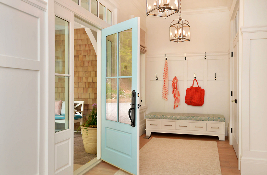 Естественные цвета являются самыми востребованными для мебели в прихожую