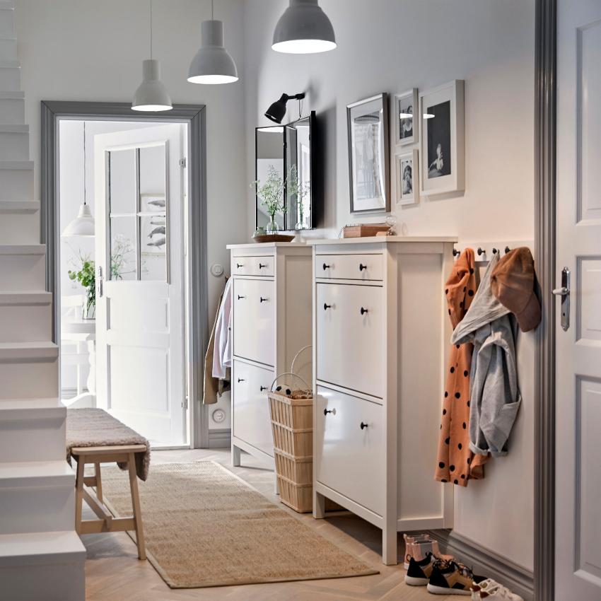 Дизайн прихожей должен перекликаться с интерьером остальных комнат