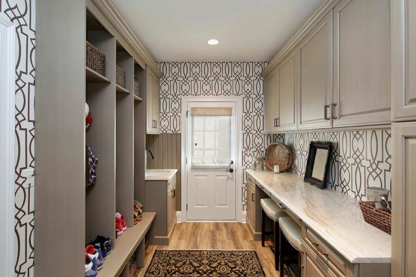 Правильно подобранная конструкция шкафа позволяет зрительно увеличить габариты помещения