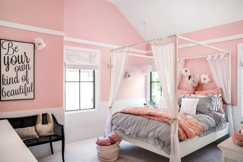 Нежные пастельные оттенки розового подойдут для спокойных людей, а также любителей классики