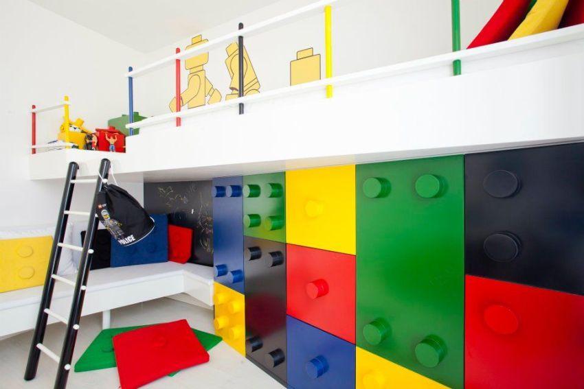 Мягкие модули позволяют конструировать игровые комнаты как угодно, под разные сюжетно-ролевые игры