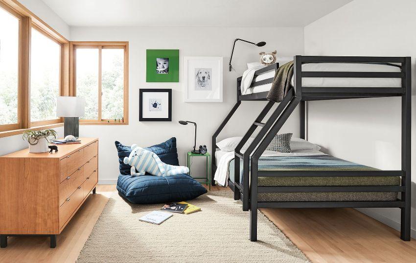 Родителям двоих детей особое внимание стоит уделить планированию детских комнат