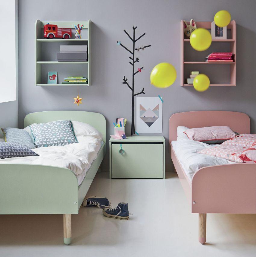 Мебель для детской для двух дошкольников должна быть безопасной