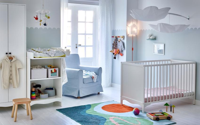 Основным фактором, определяющим оформление детской, является возраст ребенка