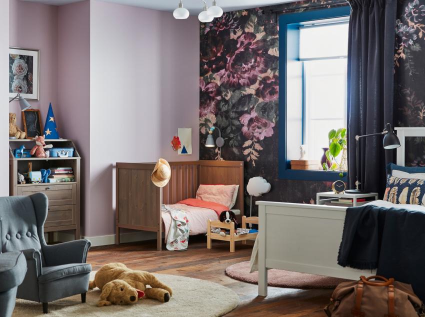 Детская комната должна быть яркой, живой, позитивной, именно таким будет воспринимать ребенок окружающий мир