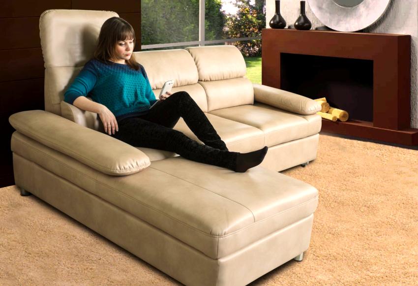 Механизм дивана «Дельфин» отличается рычажным типом и раскрывается очень просто