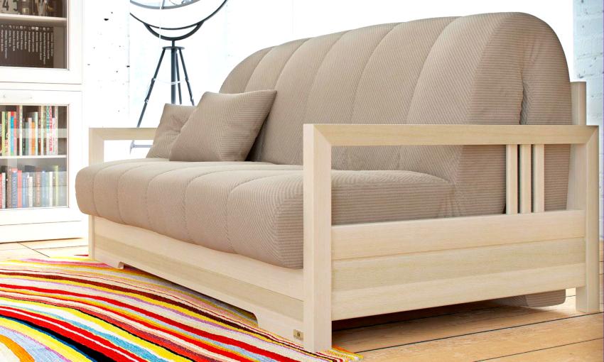Механизм «Аккордеон» для дивана является удобным и долговечным, а также простым в эксплуатации.