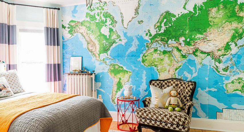 Обои в детскую комнату: создание яркого, оригинального и ненавязчивого дизайна