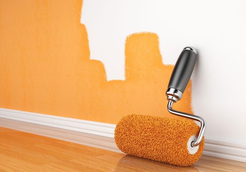 Особую популярность постепенно завоевывает краска для внутренних работ