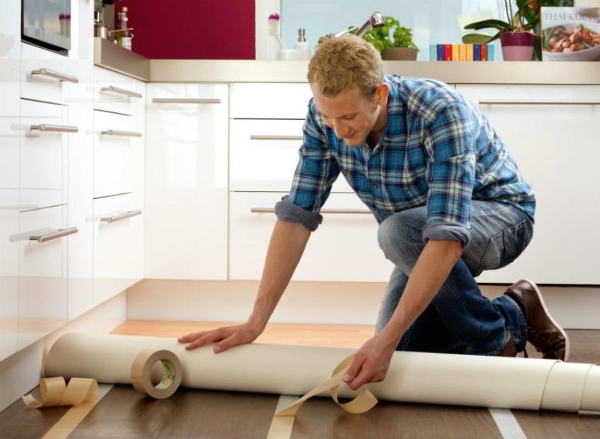 Старые деревянные полы — прекрасная основа для нового покрытия
