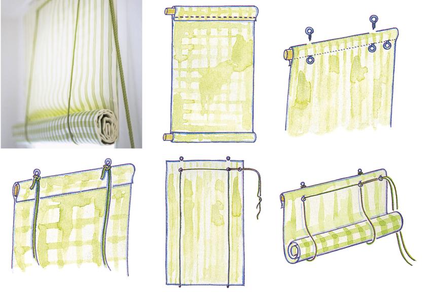 Перед пошивом нужно рассчитать необходимое число кареток – основных механизмов, с помощью которых происходит опускание и поднятие полотна