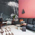 Розовые обои: воплощение покоя, романтизма и жизнерадостности  подробно, на фото