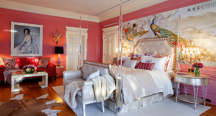 Розовые обои: воплощение покоя, романтизма и жизнерадостности