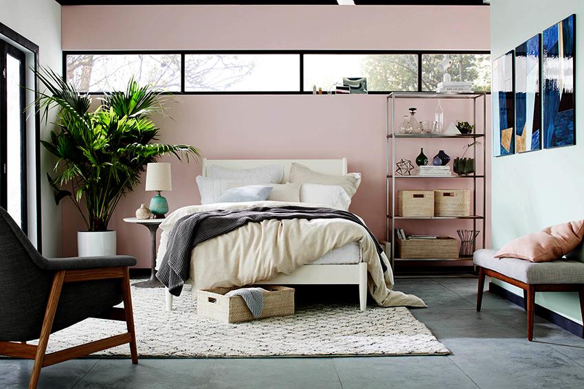 Розовый является нежным, спокойным и романтичным оттенком