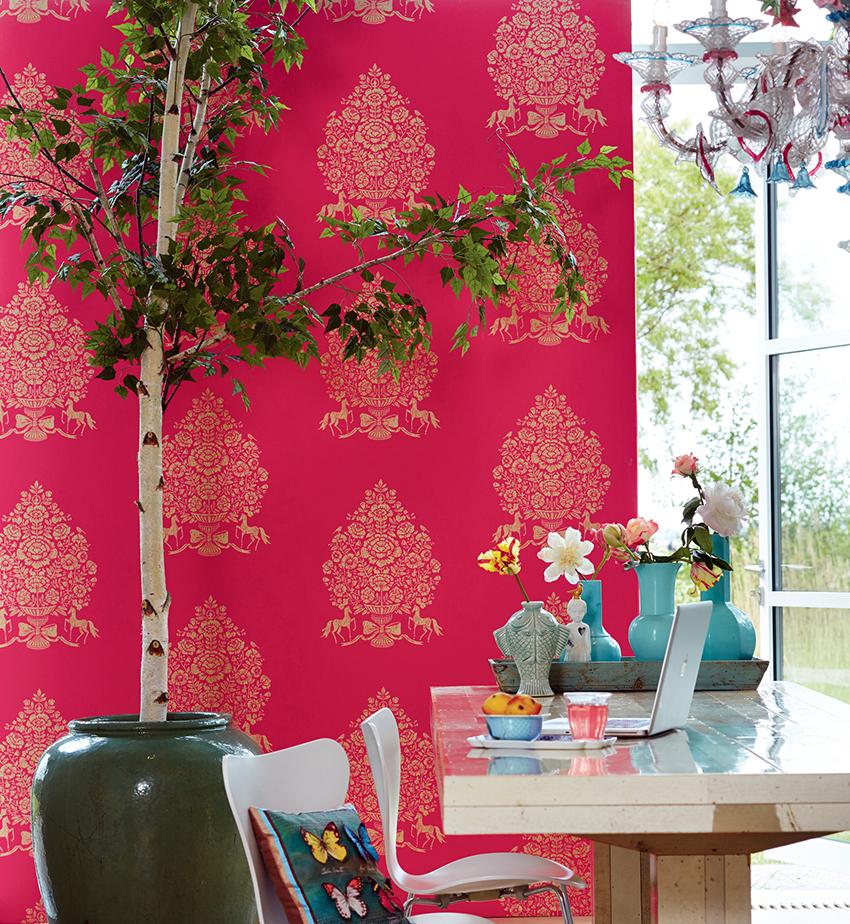 Каждый оттенок розового смотрится по-разному в интерьере помещений