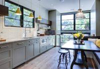Серый цвет отличается многообразием оттенков, каждый из которых может применяться в отделке кухни