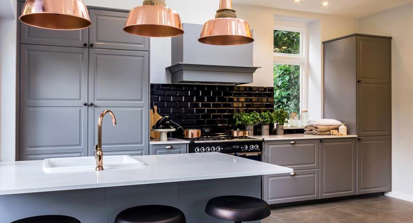 Серая кухня: современный и лаконичный способ оформления пространства