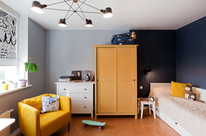 Стильный дизайнерский шкаф станет изюминкой интерьера детской