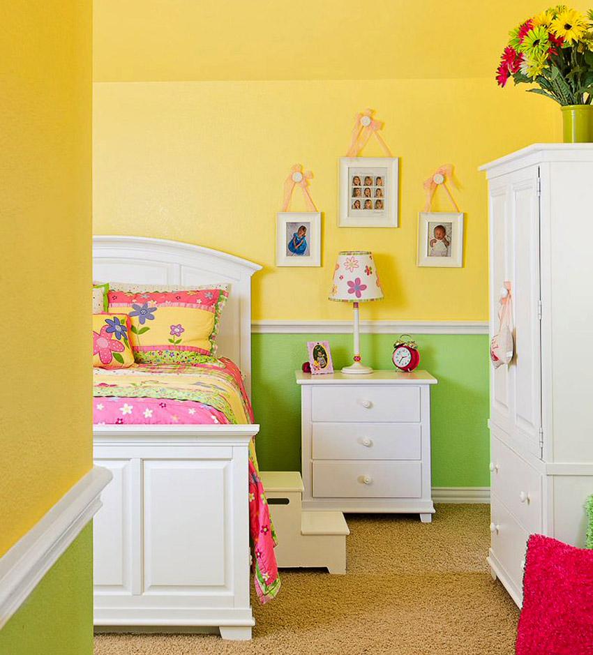 Оптимальным вариантом для комнаты девочки станет шкаф с необычным элегантным дизайном