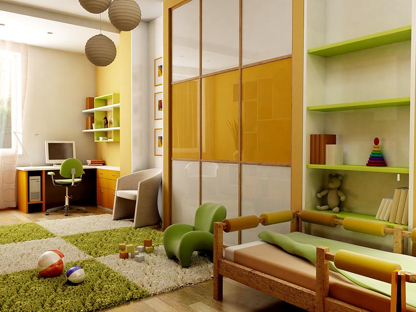 Производители предлагают большой выбор шкафов-купе для детских комнат