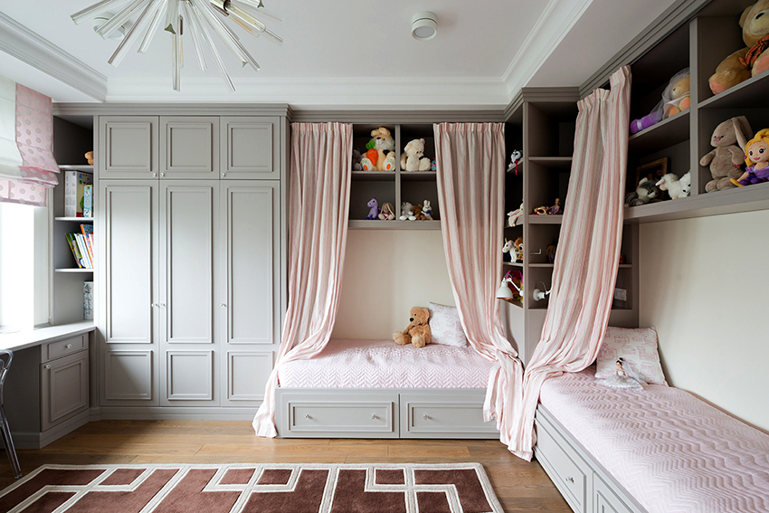 Шкаф для детской комнаты должен быть размещен в доступном месте