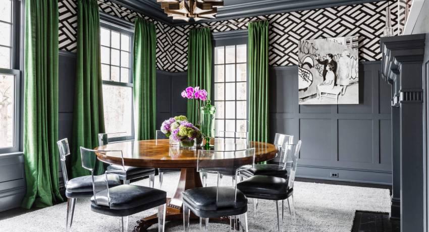 Фасон штор во многом зависит от личных предпочтений или дизайнерской задумки