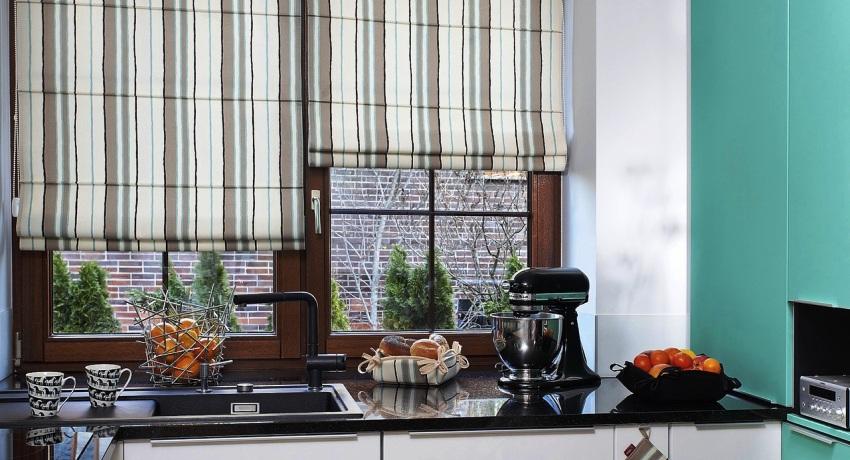 Шторы для кухни: неотъемлемый аксессуар, делающий интерьер завершенным
