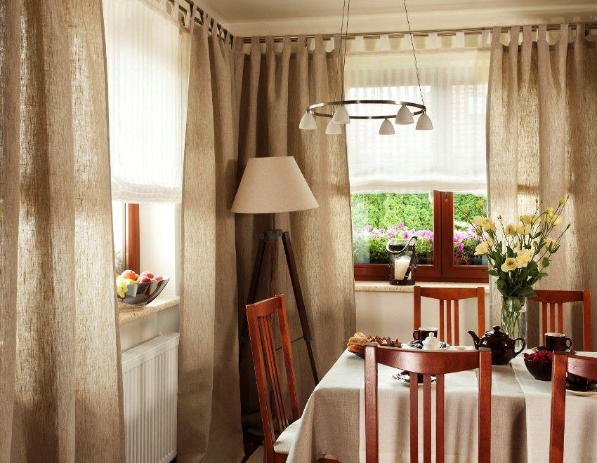 Важно правильно подобрать шторы, ведь они кроме украшения несут еще и чисто унитарную нагрузку