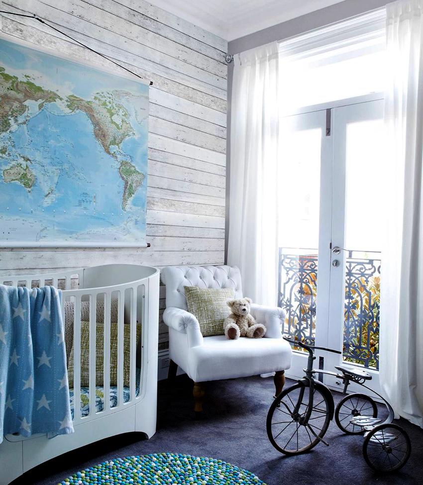 Для интерьера детской комнаты отлично подходят тюлевые занавески