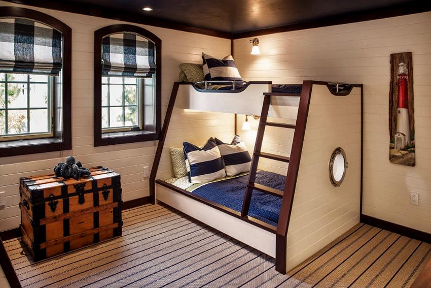 Римские шторы могут добавить красок, уюта и теплоты детской комнате