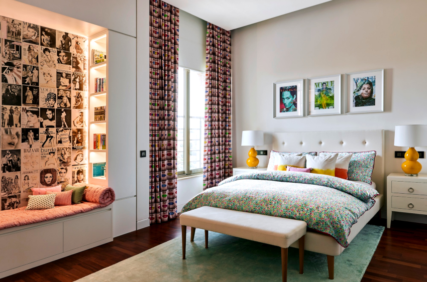 Перед тем как выбрать шторы в спальню, стоит определить их эстетичность как в открытом, так и в закрытом состоянии
